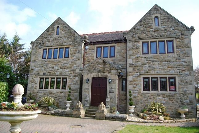 Thumbnail Detached house for sale in Crows Nest, Radcliffe Road, Bolton