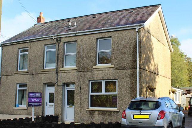 Thumbnail Semi-detached house for sale in Black Lion Road, Cross Hands, Llanelli