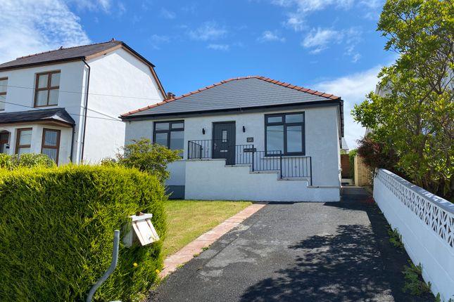 Thumbnail Detached bungalow for sale in Heol Treventy, Cross Hands, Llanelli