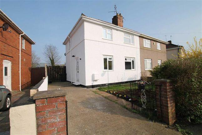 Thumbnail Semi-detached house for sale in Portbury Grove, Shirehampton, Bristol