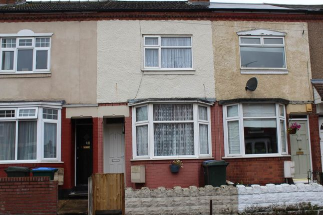 Thumbnail Terraced house to rent in Kingsland Avenue, Chapelfields, Coventry