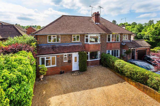 Thumbnail Semi-detached house for sale in Croydon Road, Westerham