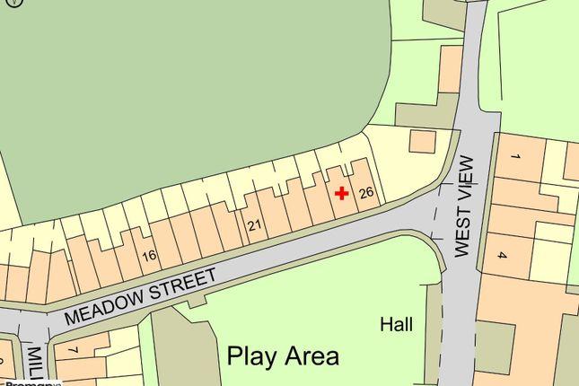 Plot Map of Meadow Street, Wheelton, Chorley, Lancashire PR6