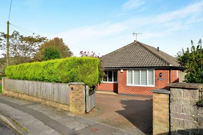 Thumbnail Bungalow for sale in Siddalls Drive, Sutton In Ashfield, Nottinghamshire, Notts