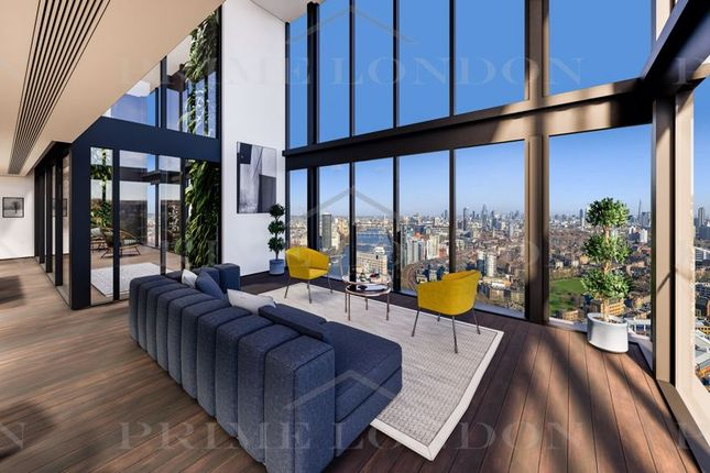 4 bed flat for sale in Damac Tower, Nine Elms, London SW8