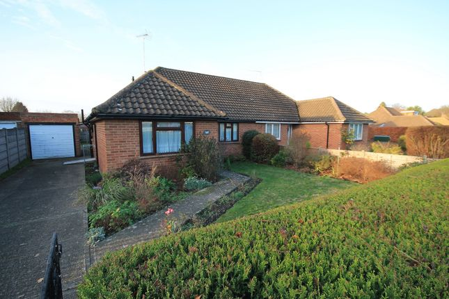 Thumbnail Semi-detached bungalow for sale in Wharf Road, Frimley Green, Camberley