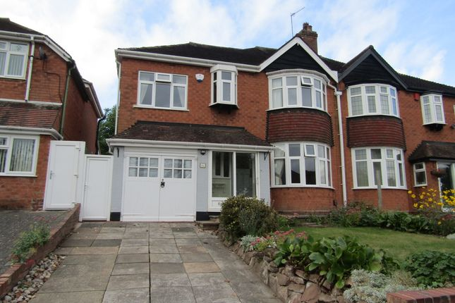 Thumbnail Semi-detached house to rent in Leopold Avenue, Birmingham