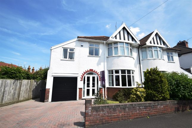 Thumbnail Semi-detached house for sale in Cransley Crescent, Westbury-On-Trym, Bristol