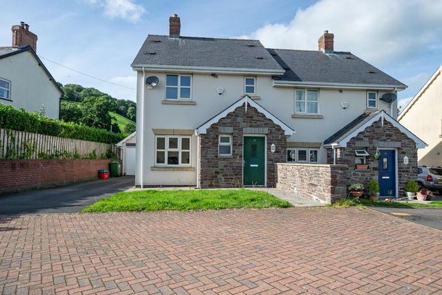 Thumbnail Semi-detached house for sale in Llyswen, Brecon