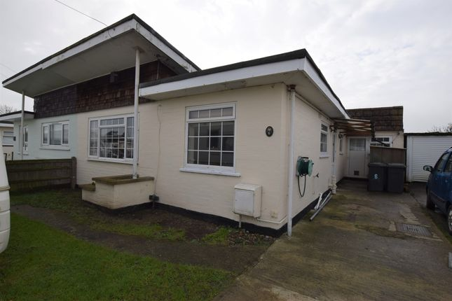 Thumbnail Bungalow for sale in Sunset Close, Pevensey Bay