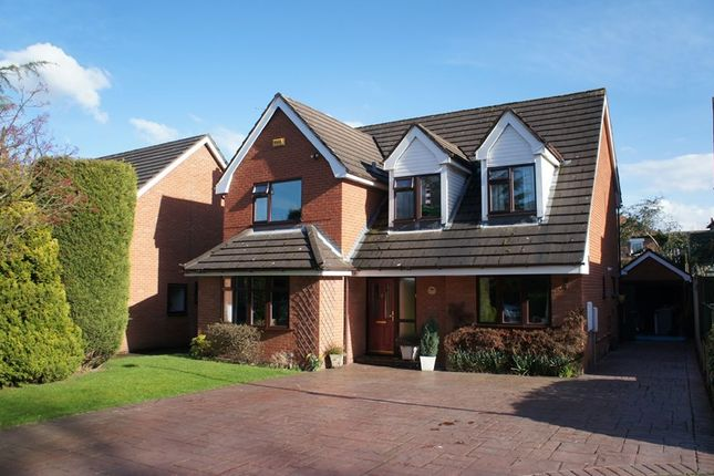 Thumbnail Detached house to rent in Mereside Avenue, Congleton