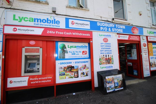 Thumbnail Retail premises for sale in Harrow Road, Wembley