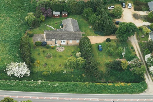 Thumbnail Detached bungalow for sale in Ely Road, Chittering, Cambridge