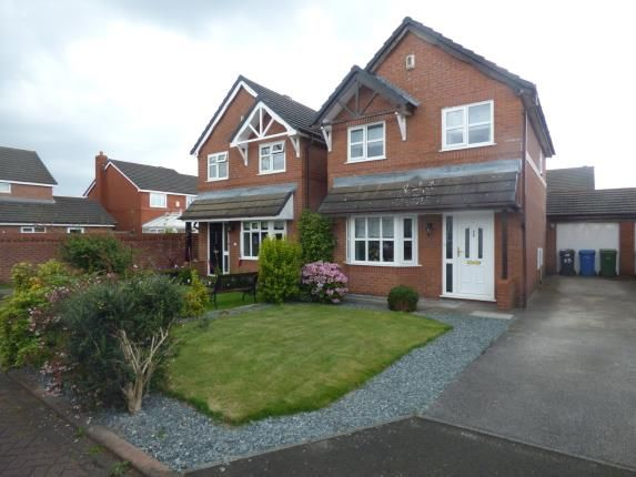 Thumbnail Detached house for sale in Mottram Close, Grappenhall, Warrington, Cheshire