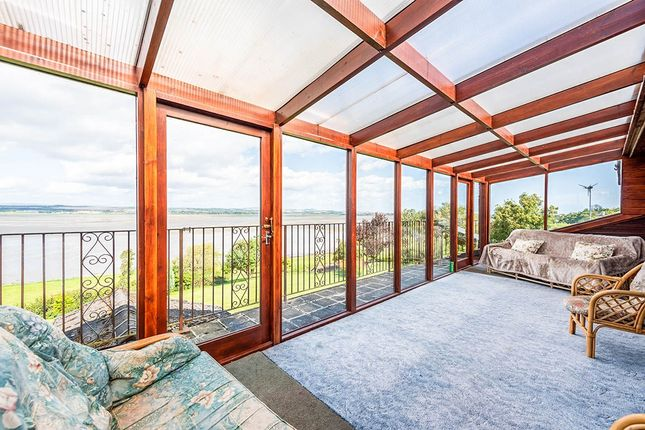 Balcony of Lilac Cottage, Rossie Braes, Montrose, Angus DD10