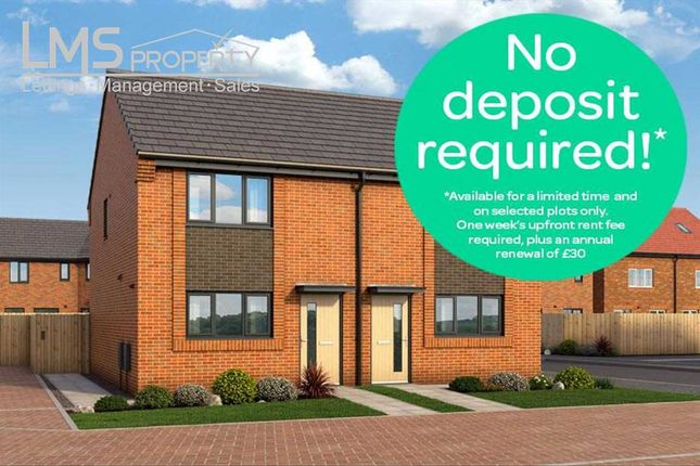 Thumbnail Semi-detached house to rent in Castlemilk Court, Woodford Grange, Winsford