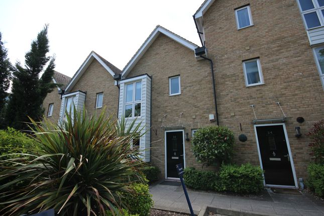 Thumbnail Terraced house for sale in Butterfly Crescent, Nash Mills Wharf, Hemel Hempstead