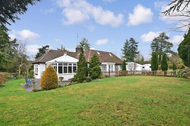 Thumbnail Detached bungalow for sale in Reigate Road, Buckland, Betchworth, Surrey