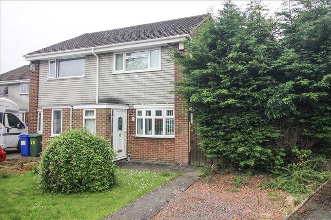 Thumbnail Semi-detached house to rent in Sudbury Way, Beaconhill Green, Cramlington