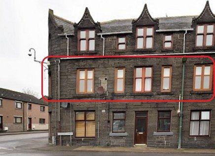 3 bed flat for sale in Huddart Street, Wick KW1