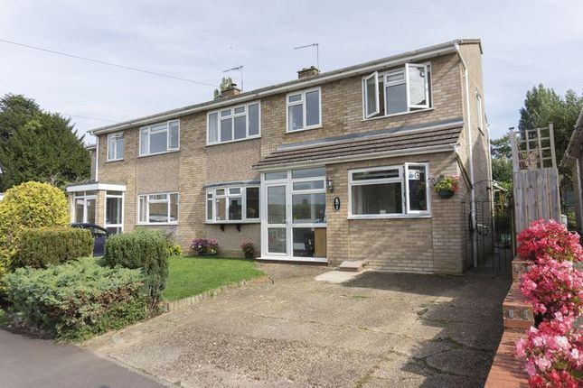 Thumbnail Semi-detached house for sale in Tabor Close, Harlington, Dunstable