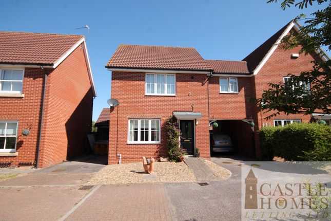 Thumbnail Semi-detached house to rent in Rivendale, Carlton Colville, Lowestoft