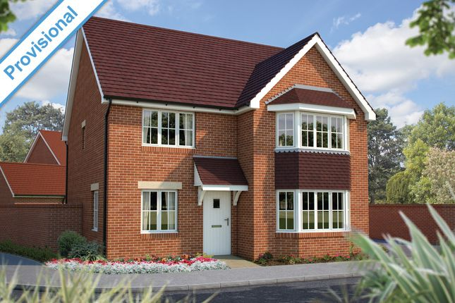 "Thumbnail Detached house for sale in ""The Oxford"" at Winchester Road, Hampshire, Botley"