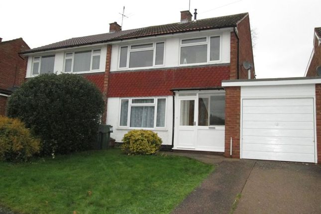 Thumbnail Semi-detached house to rent in Slideslow Avenue, Bromsgrove