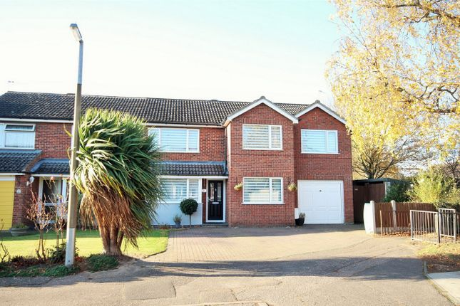 Thumbnail Semi-detached house for sale in Henley Court, Lexden, Colchester, Essex