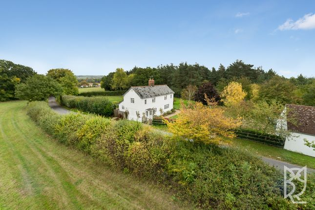 Thumbnail Detached house for sale in Sky Hall Hill, Boxted, Colchester