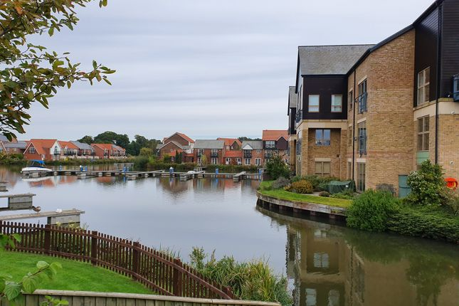 Thumbnail 1 bed flat to rent in Marine Point Apartments, Burton Waters, Lincoln