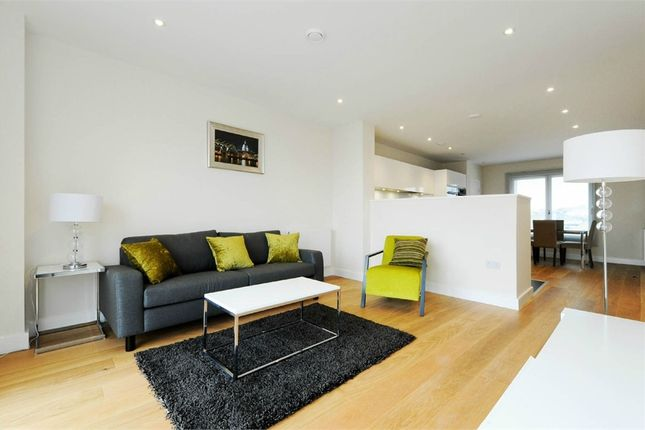 Thumbnail Flat to rent in Barquentine Heights, 4 Peartree Way, North Greenwich, London