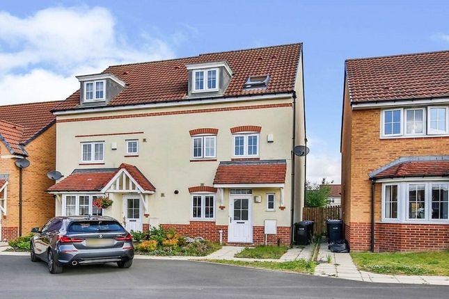 Thumbnail Semi-detached house for sale in Agar Close, Consett