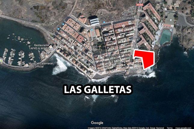 Thumbnail Land for sale in Las Galletas, Arona, Tenerife, Canary Islands, Spain