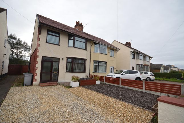 Thumbnail Semi-detached house for sale in Sandbrook Lane, Moreton, Wirral
