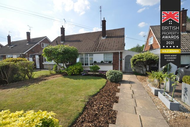 2 bed semi-detached bungalow for sale in Chadwick Close, Mount Nod, Coventry CV5