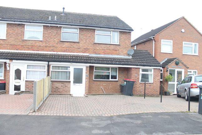 Thumbnail Semi-detached house to rent in Birch Grove, Birchmoor, Tamworth