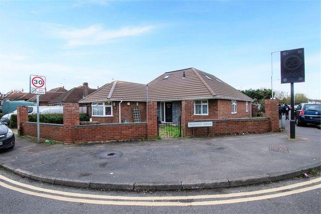 Thumbnail Detached bungalow for sale in Wadhurst Avenue, Luton, Bedfordshire