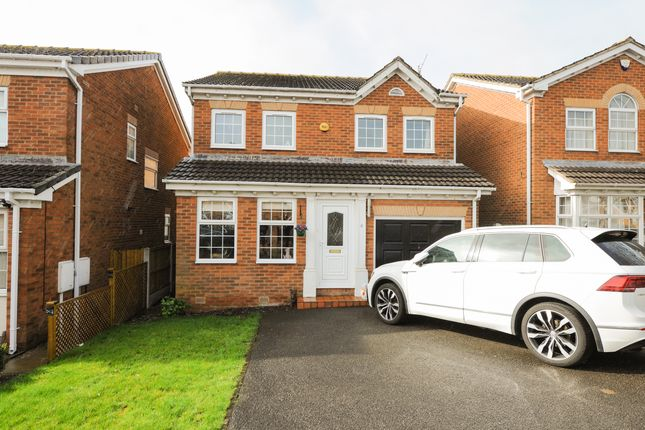 Thumbnail Detached house for sale in Birley Croft, Upper Newbold, Chesterfield