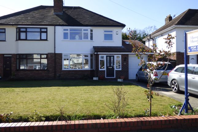 Thumbnail Semi-detached house for sale in Pike House Road, Eccleston