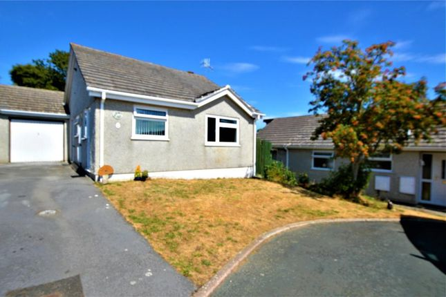 Thumbnail Detached bungalow for sale in Grove Park, Torpoint, Cornwall