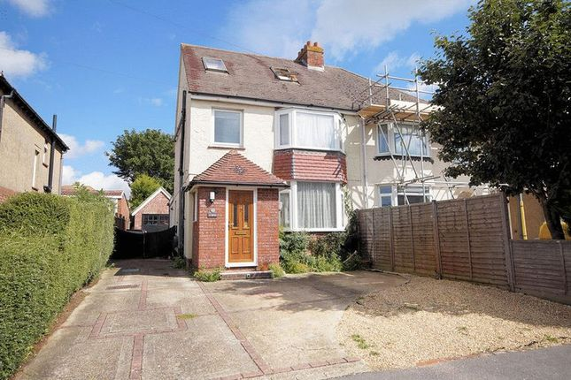Thumbnail Semi-detached house for sale in The Hillway, Portchester, Fareham