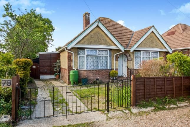 Thumbnail Bungalow for sale in Southampton, Hampshire, United Kingdom