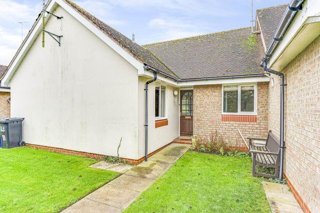 Thumbnail Terraced bungalow for sale in Dovehouse Close, Linton, Cambridge
