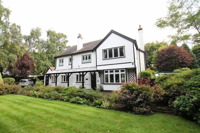Thumbnail Detached house for sale in Montgomery Hill, Caldy, Wirral