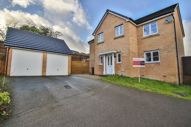 Thumbnail Detached house for sale in Pen Y Dyffryn, Cwm Faenor, Merthyr Tydfil