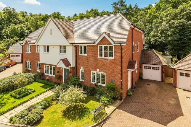 Thumbnail Semi-detached house for sale in Woodlands Close, Dorking