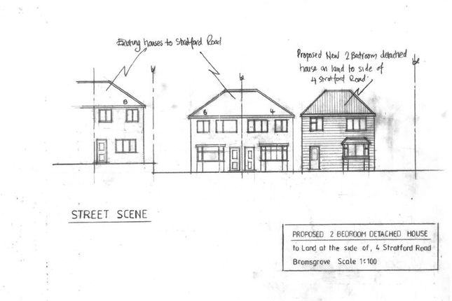 Thumbnail Land for sale in Stratford Road, Bromsgrove