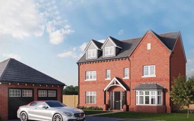 Thumbnail Detached house for sale in Preston Road, Inskip, Preston