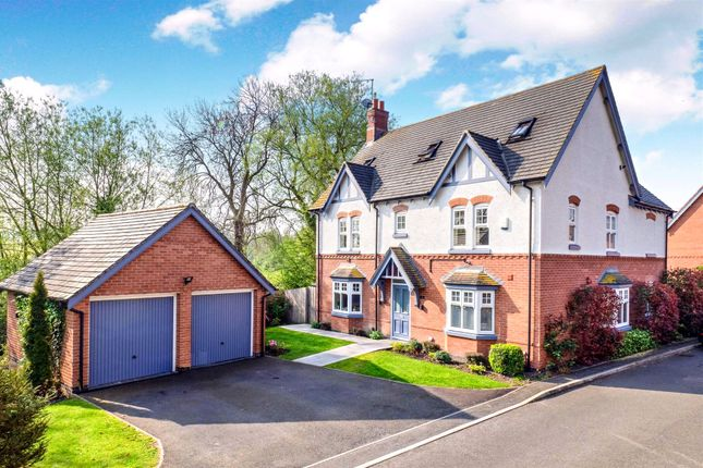 Thumbnail Detached house for sale in Carr Brook Way, Melbourne, Derby